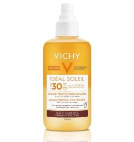 VICHY Ideal Soleil Αντηλιακό Νερό Προστασίας με Β- Καροτίνη SPF30 - 200ml