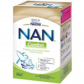 NESTLE Nan Comfort - Γάλα για Βρέφη με Ήπια Συμπτώματα Δυσκοιλιότητας 500gr