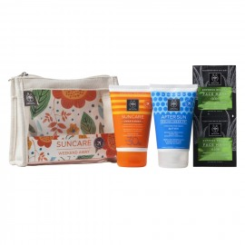 APIVITA Suncare Weekend Away, Face & Body SPF30 & After Sun & Δώρο Face Mask
