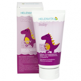 HELENVITA Baby Nappy Rash Cream Κρέμα Αλλαγής Πάνας Και Ερεθισμούς 150ml