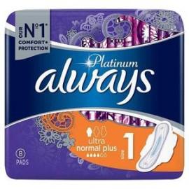 ALWAYS Platinum Ultra Normal Plus No1 - 8τμχ