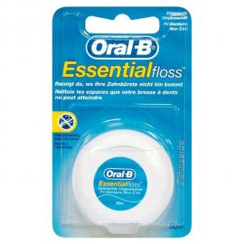 ORAL B Essential Floss Ακήρωτο Οδοντικό Νήμα 50m
