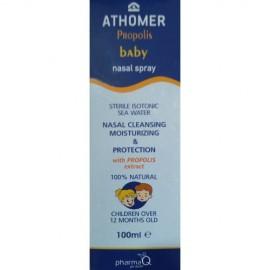 ATHOMER Baby Propolis Spray,  Ρινικό Σπρέι Mε Πρόπολη - 100ml