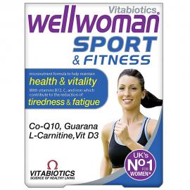 VITABIOTICS Wellwoman Sport & Fitness 30tabs