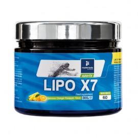MY ELEMENTS Lipo x7 Powder, Συμπλήρωμα για Αύξηση του Μεταβολισμού - 300gr