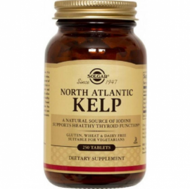 SOLGAR North Atlantic Kelp 300mg - 250tabs