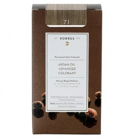 KORRES Βαφή Argan Oil 7.1 Ξανθό Σαντρέ - 50ml