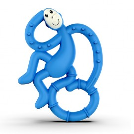 MATCHSTICK MONKEY Mini Monkey Teether Blue, Κρίκος Οδοντοφυΐας