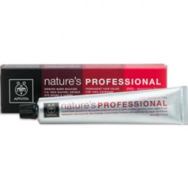 APIVITA Βαφή Nature's Professional 5.77 Καστανό Ανοιχτό Μπεζ 50ml