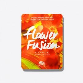 ORIGINS Flower Fusion Sheet Mask Orange, Μάσκα Προσώπου Πορτοκάλι -1τμχ
