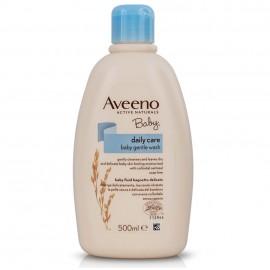 AVEENO Baby Daily Care Gentle Wash Fluid, Απαλό Καθαριστικό Σώματος Για Μωρά - 500ml