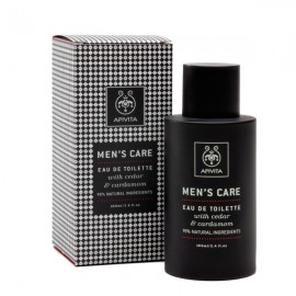 APIVITA Men΄s Care Eau De Toilette Με Κέδρο & Κάρδαμο 100ml