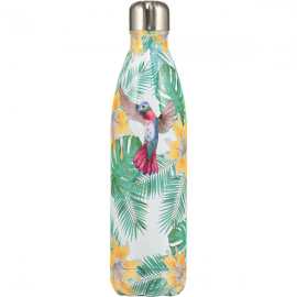 CHILLY'S BOTTLES Μπουκάλι- Θερμός, Tropical Edition Flowers - 500ml