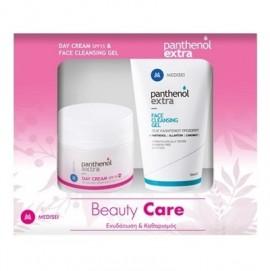 PANTHENOL EXTRA Σετ Day Cream SPF15 - 50ml & Face Cleansing Gel - 150ml