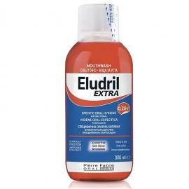ELGYDIUM Eludril Extra 0.20% Chlorhexidine Στοματικό Διάλυμα - 300ml
