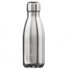CHILLY'S BOTTLES Μπουκάλι- Θερμός, Silver - 260ml