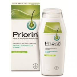 PRIORIN Σαμπουάν για Κανονικά/Ξηρά Μαλλιά Κατά της Τριχόπτωσης 200ml