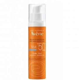 AVENE Fluid Sans Parfum SPF50+, Αντηλιακό Χωρίς Άρωμα - 50ml