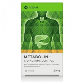 AGAN Metabolin 1 X-Syndrome Control - 60 κάψουλες