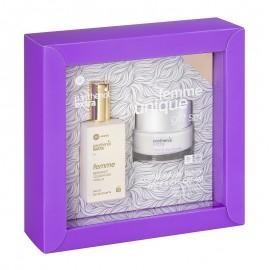 PANTHENOL Extra Femme Unique Gift Set, Eau De Toilette - 50ml & Face & Eye Cream - 50ml