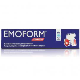 EMOFORM Οδοντόκρεμα για Ευαίσθητους Οδοντικούς Αυχένες 85ml