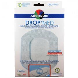 MASTER AID Drop Med Αντικολλητικές Αυτοκόλλητες Γάζες 10x12 5τμχ