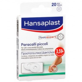 HANSAPLAST Foot Expert Μικροί Προστατευτικοί Δακτύλιοι 20τμχ