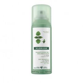 KLORANE Σαμπουάν Spray για Ξηρό Λούσιμο με Εκχύλισμα Τσουκνίδας - 50ml