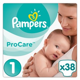 PAMPERS Procare No 1 (2-5kg) - 38τμχ