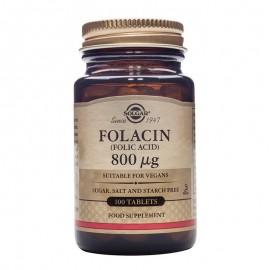 SOLGAR Folacin (Folic Acid) 800μg - 100tablets