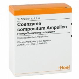 Heel Coenzyme Compositum 10 Ενέσιμες Αμπούλες 2.2ml