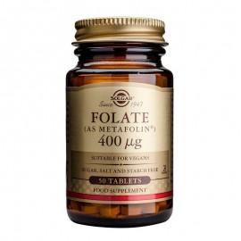 SOLGAR Folate 400μg -50tabs