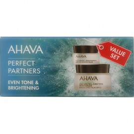 AHAVA Perfect Partners Even Tone & Brightening Value Set