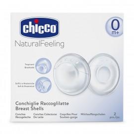 CHICCO Breast Shells - Κοχύλια Συλλογής Μητρικού Γάλακτος 2τμχ