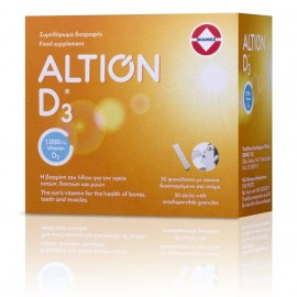 ALTION Vitamin D3, Βιταμίνη D3 1000IU - 30 φακελάκια