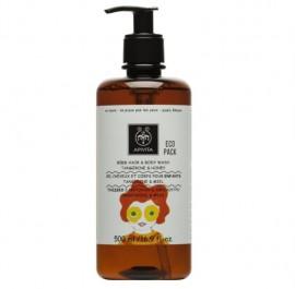 APIVITA Kids Hair & Body Wash, Παιδικό Σαμπουάν & Αφρόλουτρο - 500ml
