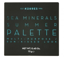 KORRES Sea Minerals, Summer Palette, Blue Waters - 13gr