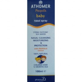 ATHOMER Baby Spray, Ρινικό Σπρέι - 100ml