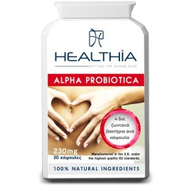 HEALTHIA Alpha Probiotica 230mg -  30 κάψουλες