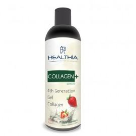 HEALTHIA Collagen+, Υδρολυμένο Κολλαγόνο γεύση Φράουλα - 500ml