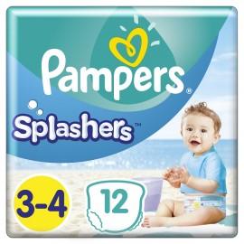 PAMPERS Splashers No 3-4 (6-11kg) - 12τμχ