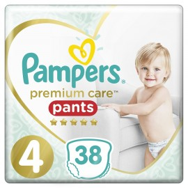 PAMPERS Premium Care Pants No 4 (9-15kg) - 38τμχ