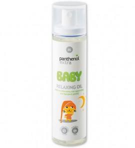 PANTHENOL EXTRA Baby Relaxing Oil Λάδι Ενυδάτωσης & Φροντίδας για βρεφικό μασάζ 100ml