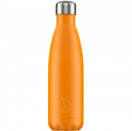 CHILLY'S BOTTLES Μπουκάλι- Θερμός, Neon Orange - 500ml