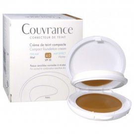 AVENE Couvrance Compact Fini Mat 04 Miel SPF30 10gr