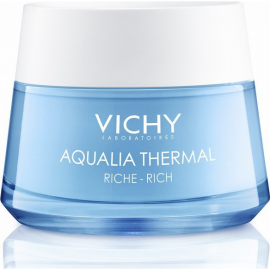 VICHY Aqualia Thermal Κρέμα Ενυδατικής Αναπλήρωσης Προσώπου Για Ξηρές & Πολύ Ξηρές Επιδερμίδες 50ml