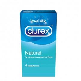 DUREX Natural 6τμχ