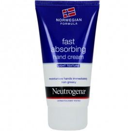 NEUTROGENA Fast Absorbing Hand Cream, Κρέμα Χεριών Ελαφριάς Υφής - 75ml