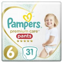 PAMPERS Premium Care Pants No 6 (15+kg) - 31τμχ