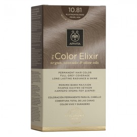 APIVITA My Color Elixir, Βαφή Μαλλιών No 10.81 - Κατάξανθο Περλέ Σαντρέ